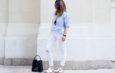 Come portare i pantaloni bianchi ed abbinarli con gli altri vestiti