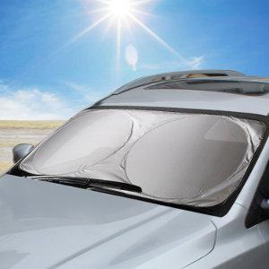 Copertura in Cotone per Volante Copertura in Cristallo per Sole Visiera Laterale per Auto Estive Visiera Parasole con Finestra Laterale Tendina Parasole